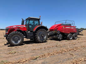 Massey Ferguson 2270XD Square Baler Hay/Forage Equip - picture0' - Click to enlarge