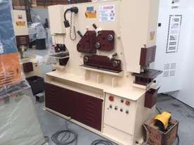 Marksman 125 tonne punch and shear ironworker - picture0' - Click to enlarge