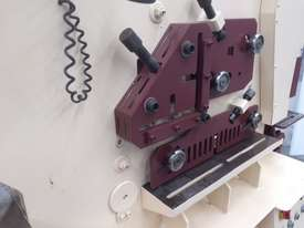 Marksman 125 tonne punch and shear ironworker - picture4' - Click to enlarge