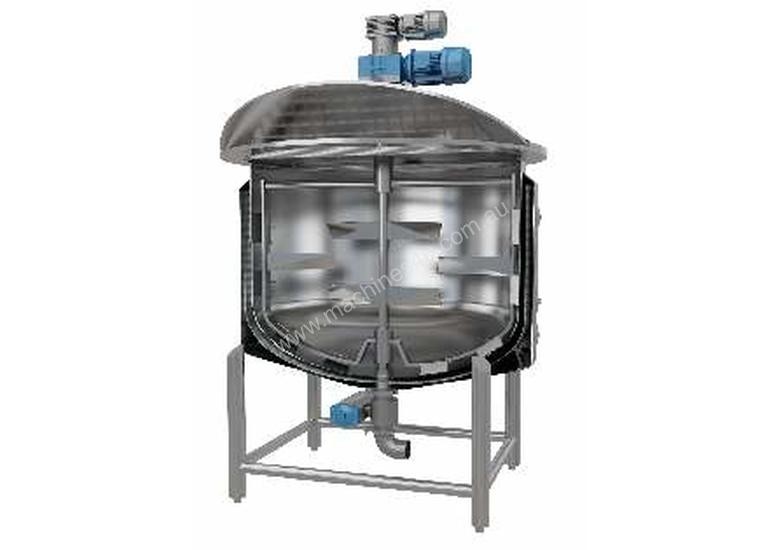 Jacketed 2000L Cooker Kettle (Contra Rotating) 316