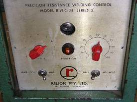 Relion RWC-38 series 3 micro spot welder #2005 - picture1' - Click to enlarge