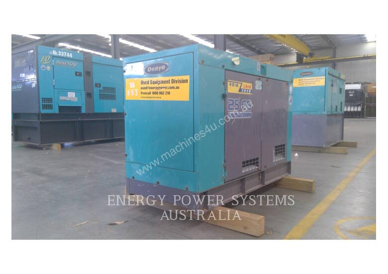 DENYO DCA-25ESI Portable Generator Sets