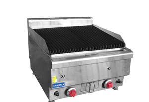 JUS-TRH40 GASMAX Benchtop Gas Lava Rock Grill