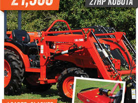 KUBOTA NEW 27 HP TRACTOR - picture0' - Click to enlarge
