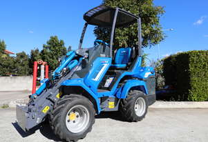 Multione 7.2 Heavy Lift Mini Wheel  Loader with 1200kg lifting capacity