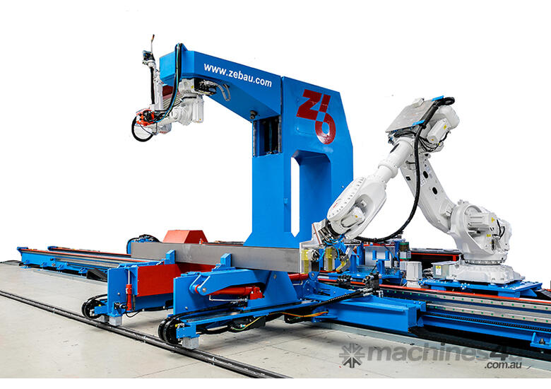 Zeman - Single Rail � Structural Steel Beam Assembly Machine