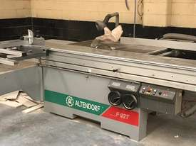 Altendorf F92t table saw - picture0' - Click to enlarge