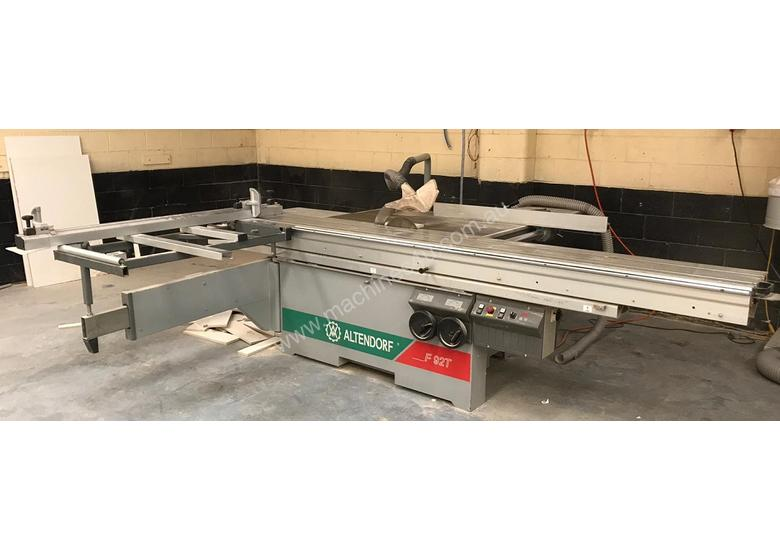 Altendorf F92t table saw
