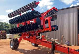 ROCCA ST-650F Heavy Duty Folding SupaTill Tillage Discs Harrow 54 Discs