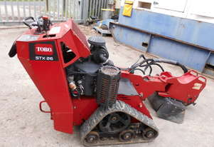 toro STX-26 stump cutter , V2 petrol , 400hrs