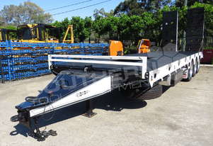 Tri Axle 28 Ton ELITE Tag Trailer Custom BLK ATTTAG