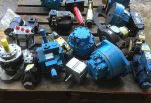 Pallet of new hydraulic Pumps or motors if not new been refurbished would like to sell the whole lot