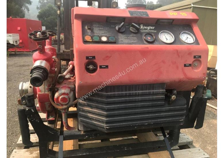Portable fire fighting pump