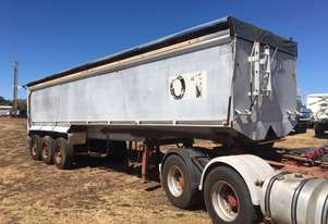Custom Built   Grain trailer
