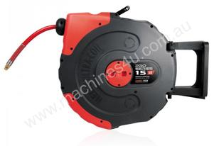 RETRACTABLE AIR HOSE REEL 15m (1/2