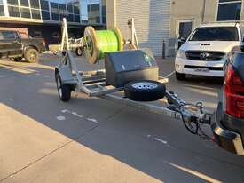 Cable Drum Trailer - 2500kg Single axle Bambalina Cable Drum Trailer - picture0' - Click to enlarge