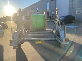 Cable Drum Trailer - 2500kg Single axle Bambalina Cable Drum Trailer - picture1' - Click to enlarge