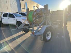 Cable Drum Trailer - 2500kg Single axle Bambalina Cable Drum Trailer - picture2' - Click to enlarge