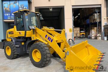 2021 UHI MACHINERY WHEEL LOADER 2200KG LIFT 100HP Hydraulic Pilot Control Stock in SDY Mel SA BNE