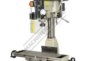 HM-32 Mill Drill - Belt Drive (X) 540mm (Y) 190mm (Z) 410mm