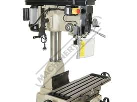 HM-32 Mill Drill - Belt Drive (X) 540mm (Y) 190mm (Z) 410mm - picture4' - Click to enlarge