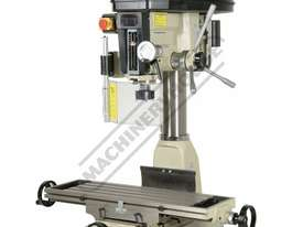 HM-32 Mill Drill - Belt Drive (X) 540mm (Y) 190mm (Z) 410mm - picture0' - Click to enlarge