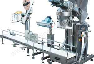 Automatic Bag Weighing Filling and Sealing Line.