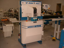 OMGA V235 TWIN MITRE PNEUMATIC OPERATED  - picture0' - Click to enlarge