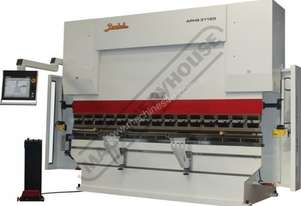 APHS-3106x120 Hydraulic CNC Pressbrake 120T, 5 Axis, Delem DA66T Touch Screen Control Includes Progr
