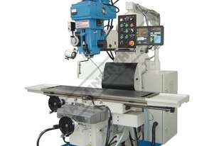 BM-90VE Industrial Turret Milling Machine Table Travel: (X) - 1120mm (Y) - 520mm (Z) - 360mm Include