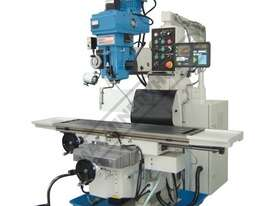 BM-90VE Turret Milling Machine (X) 1120mm (Y) 520mm (Z) 360mm Includes Digital Readout - picture0' - Click to enlarge