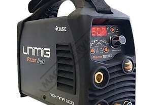 Razorweld 200P DC TIG & MMA (ARC) Inverter Welder-High Frequency 5-200A #KUMJRR200DC