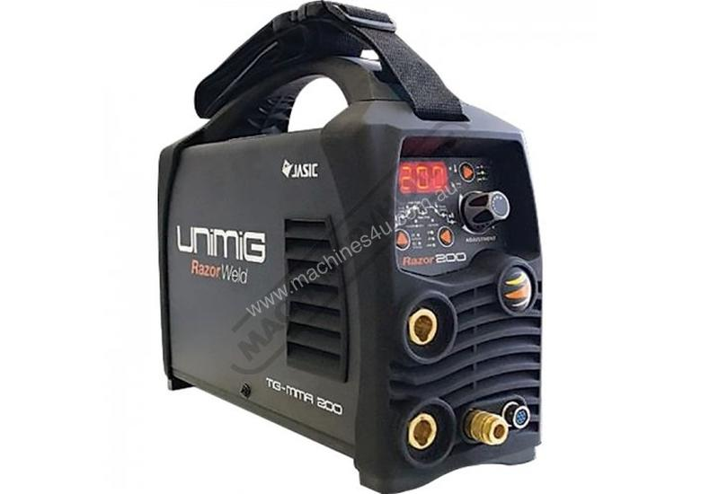 Razorweld 200P DC TIG & ARC Inverter Welder-High Frequency 5-200A #KUMJRR200DC