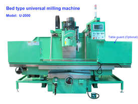 Quantum U-2000 Universal Bed Mills - picture2' - Click to enlarge