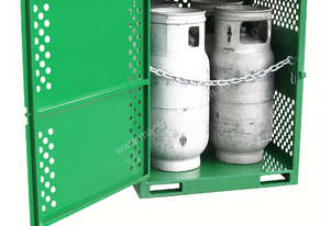 Gas Cylinder Storage cage for 4 x Type T Forklift