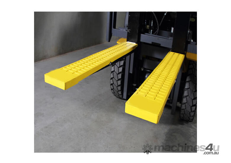 Forklift Rubber Tyne Grips for 125mm wide Tynes