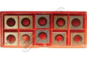 W816 HSS Inserts for Spiral Cutter Heads on Thicknessers 14.3 x 14.3 x 2mm (10 Inserts Per Pack) Sui
