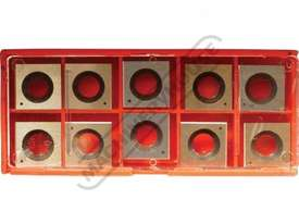 W816 HSS Inserts For Thicknesser Spiral Cutter Heads 14.3 x 14.3 x 2mm (10 Inserts Per Pack) Suits T - picture0' - Click to enlarge