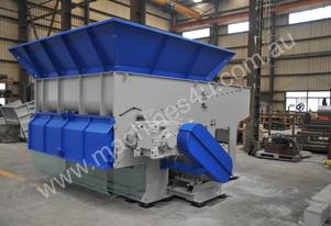 Wood Shredder, Single Shaft 600mm up to 2600mm Wide