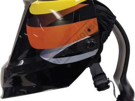 XA-5022(D) Auto Darken Welding Helmet with PAPR Respiratory System - 5-9, 9-13 Shade Suits Mig, Tig, - picture2' - Click to enlarge