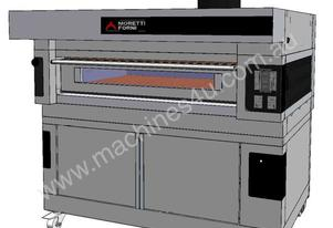 Moretti COMP S100E/1/L Single Deck Electric Deck Oven with Prover