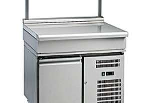 Waldorf 800 Series BT8900S-RB - 900mm Bench Top With Salamander Support `` Refrigerated Base