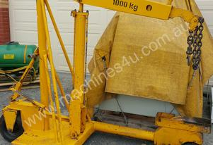 MOBILE HYDRAULIC CRANE-HOIST-LIFT