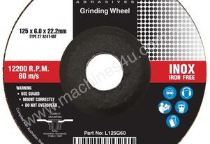 LOCH 125mm x 1.0mm Thin Inox Cutting Disc