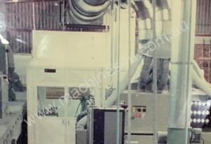 Coating Booth, dust and temperature controlled