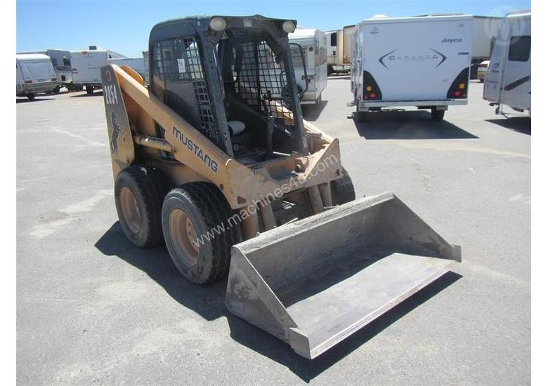 Used Mustang Skid Steer for sale - 2011 Mustang 2054 Loader (Skid ...