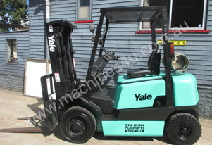 Yale 2 ton/tonne Container Entry Used Forklift