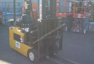 ELECTRIC HYSTER FORKLIFT 6M LIFT HEIGHT 1.7 TON