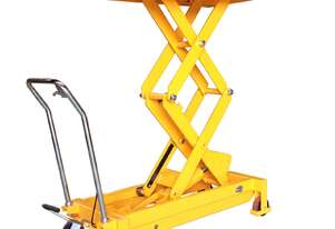 700kg Hydraulic Scissor Lift Table/Trolley 1500mm