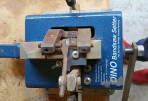 Dino bandsaw setter and sharpener